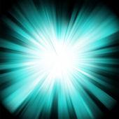 Modrá barva design s výbuch. eps 8 — Stock vektor