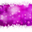 Purple background with snowflakes. EPS 8 — 图库矢量图片