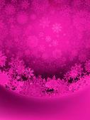 Vánoční pozadí s sněhové vločky. vektorový soubor eps 8 — Stock vektor