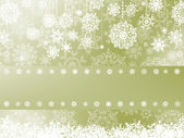 Elegant christmas background with snowflake. EPS 8 — Stock Vector