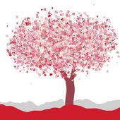 Love card design. Wedding or Valentine. EPS 8 — Stock Vector