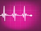 Cardiogram EKG. EPS 8 — Stock Vector
