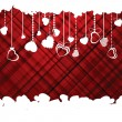 Vector de stock : Hearts Valentine's day or Wedding template. EPS 8 vector file included