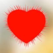 Explosão de coração abstrato. eps 8 — Vetorial Stock