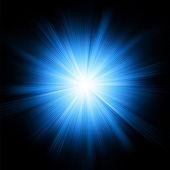 Een blauwe kleur ontwerp met een uitbarsting. eps 8 — Stockvector