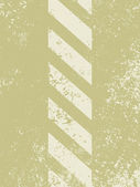 A grungy and worn hazard stripes texture. EPS 8 — Stock Vector