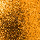 Création sur fond brillant orange. eps 8 — Vecteur