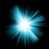 蓝色爆裂颜色设计模板。8 eps — 图库矢量图片