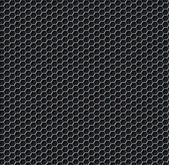 Hexagon grid seamless background — Stock Vector