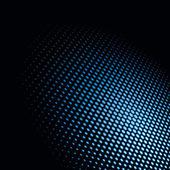 Light spot. Hexagonal dots — Stock Vector