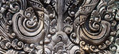 Balinese traditional stone carving elements — Stock Photo