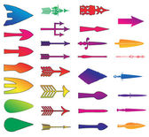 Color arrows. Vector — Stock vektor