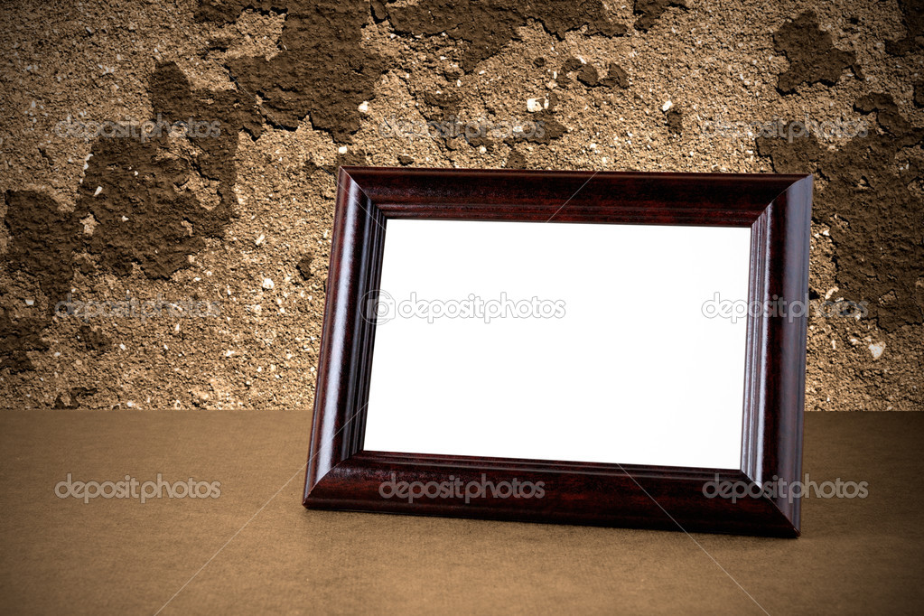 Old Wooden Picture Frames Old Wooden Photo Frame on