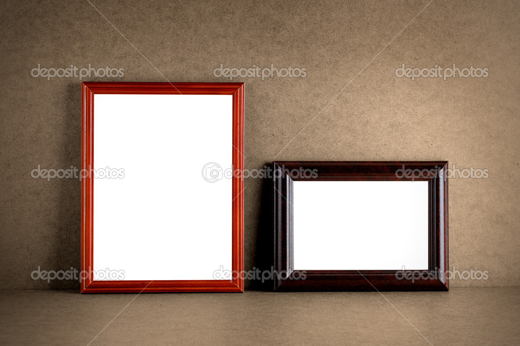 Old Wooden Picture Frames Old Wooden Photo Frames on