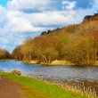 Forth and Clyde Canal in Springtime, Scotland — Stock Photo