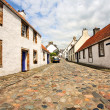 Old houses in Culross, Scotland — Stock Photo