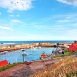 Old, fishing harbour in Dunbar, Scotland, UK — Stock Photo #10544952
