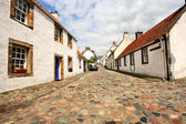 Old houses in Culross, Scotland — Stockfoto