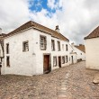 Old street and historical houses in Culross, Scotland — Stock Photo #10659414