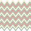 Retro chevron pattern — Foto Stock