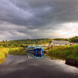 Stock Photo: Forth & Clyde Canal, Scotland