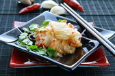 Korean food Kimchi traditional salad — Stock Photo