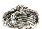 Monochrome scarf in Arabic style — Stock Photo