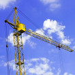 Construction crane — Foto Stock #8514288