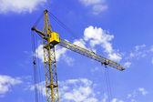 Construction crane — Stok fotoğraf