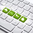 ECO keyboard — Stock Photo