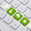 eco keyboard — Stock Photo #8786695