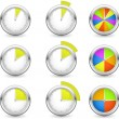 Timers - Stock Vector