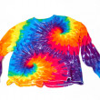 Stock Photo: Tie dye shirt