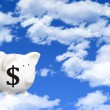Cloud computing costs — Stock Photo