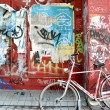 Urban graffit — Stock Photo
