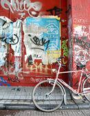 Urban graffit — Stock Photo