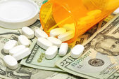 Rising healthcare costs — Stock Photo