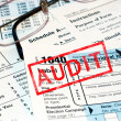 Tax audit — Stock Photo #9921965