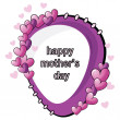 Royalty-Free Stock Vector Image: Mother's day card
