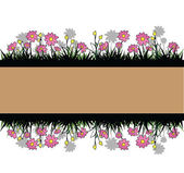 Fondo de flore — Vector de stock