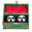 Chinese zen balls for meditation — Stok Fotoğraf #8267610