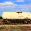 Railway tank - Stock Photo