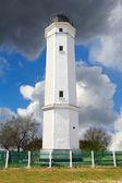 White lighthouse — Stock Photo