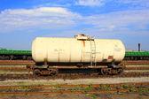 Cysterna kolejowa — Zdjęcie stockowe
