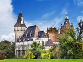 Vajdahunyad castle budapeşte — Stok fotoğraf