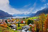 Mondsee lake in Austria — Stock Photo