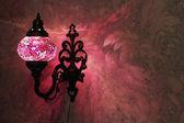 Turkish handmade lamp — Stock Photo