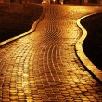 Mariinsky park at night — Stock Photo #8156858