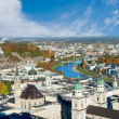 Stock Photo: View over old town in Salzburg