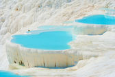 Pamukkale basins — Stock Photo